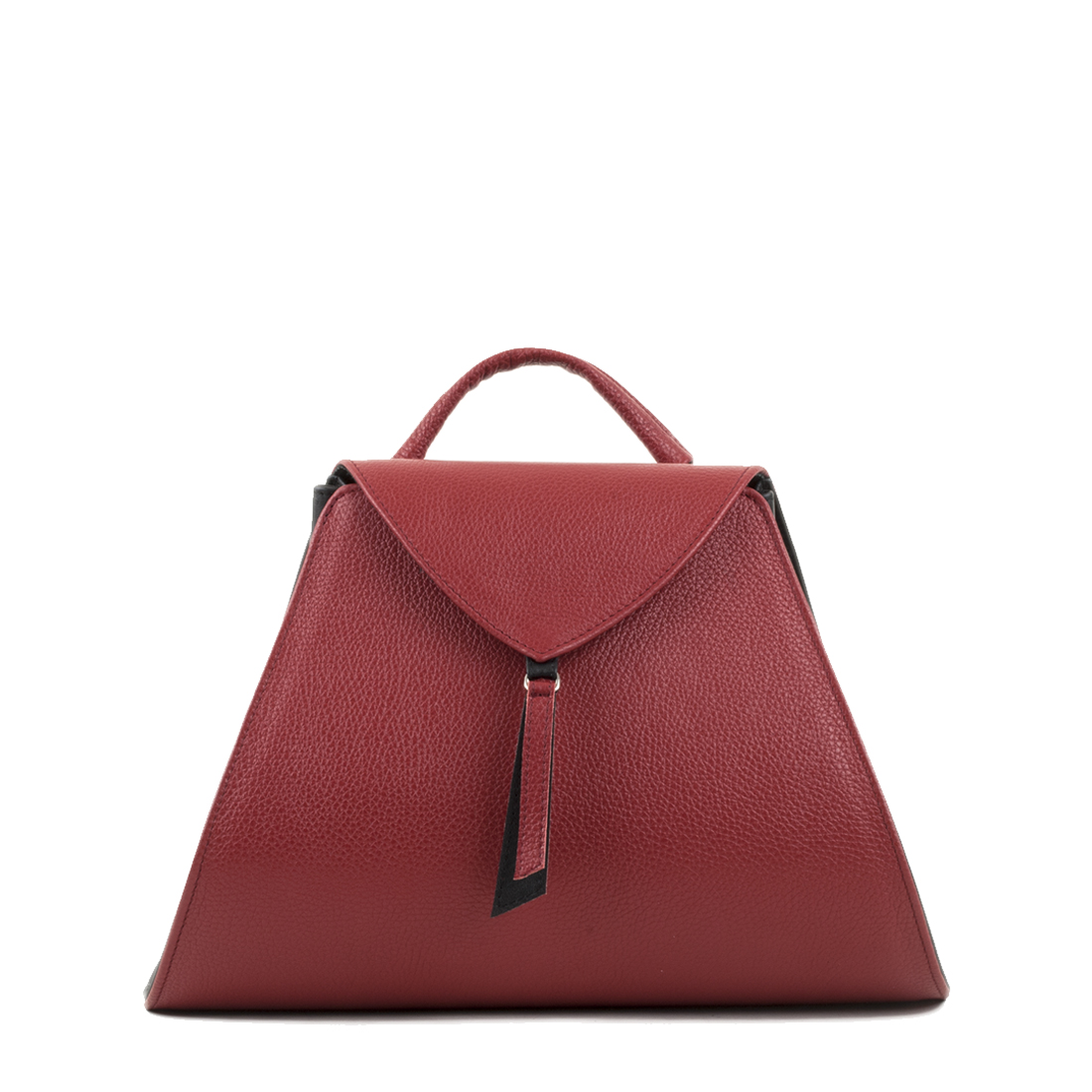 Josie Red Leather Backpack