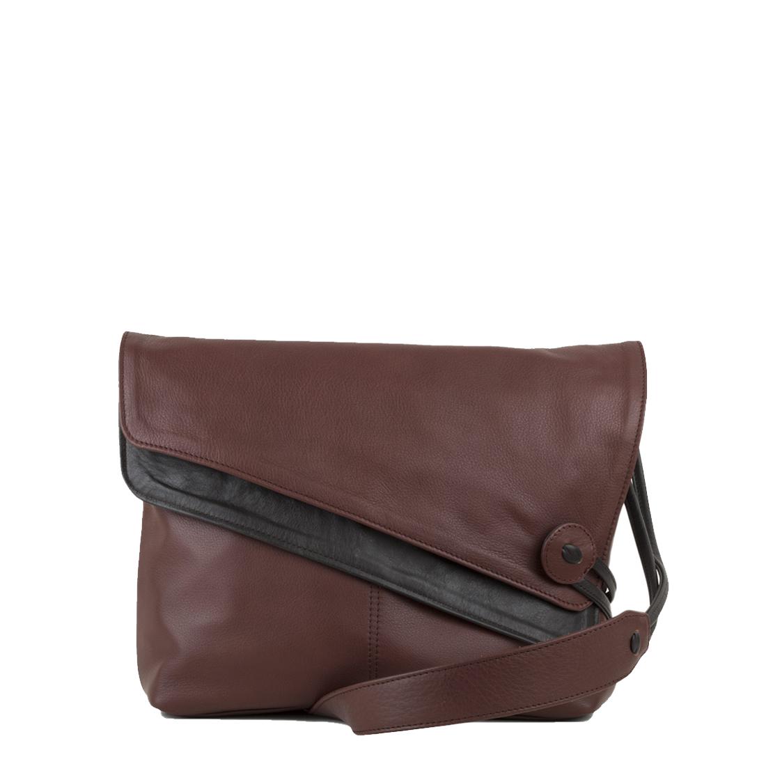 Lindsay Brown Across Body Leather Bag