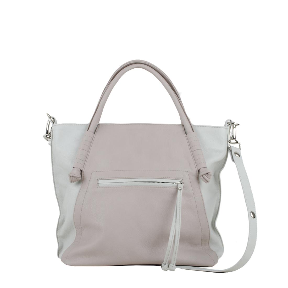 Amy Pale Pink PolvereTote Bag