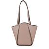 Greta Zinco Structured Leather Shoulder Bag