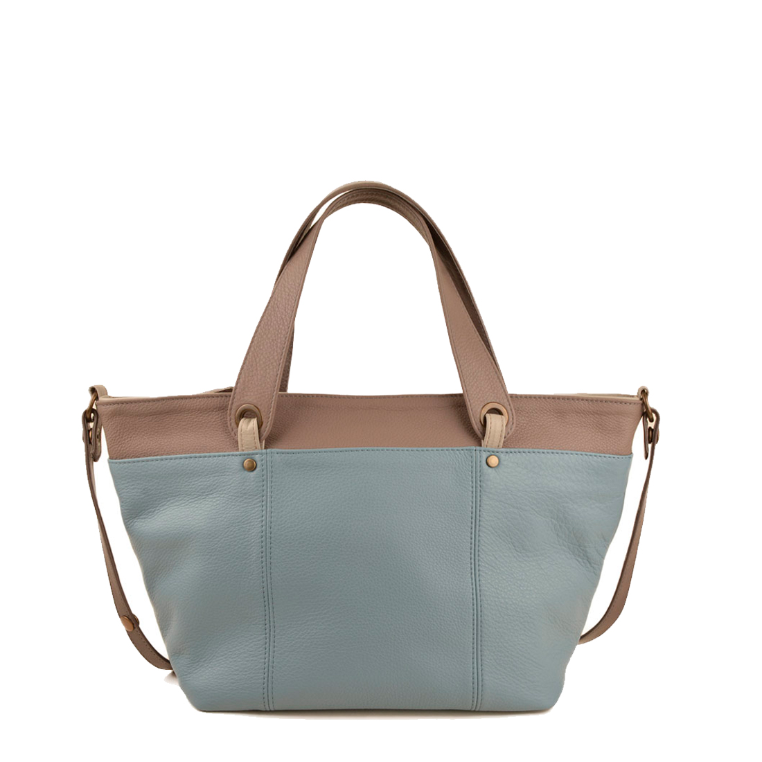 Lucy Niagra Leather Tote Bag