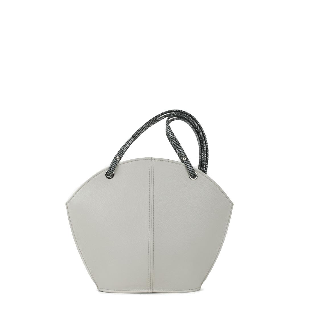 Ava Stone Leather Shoulder Bag