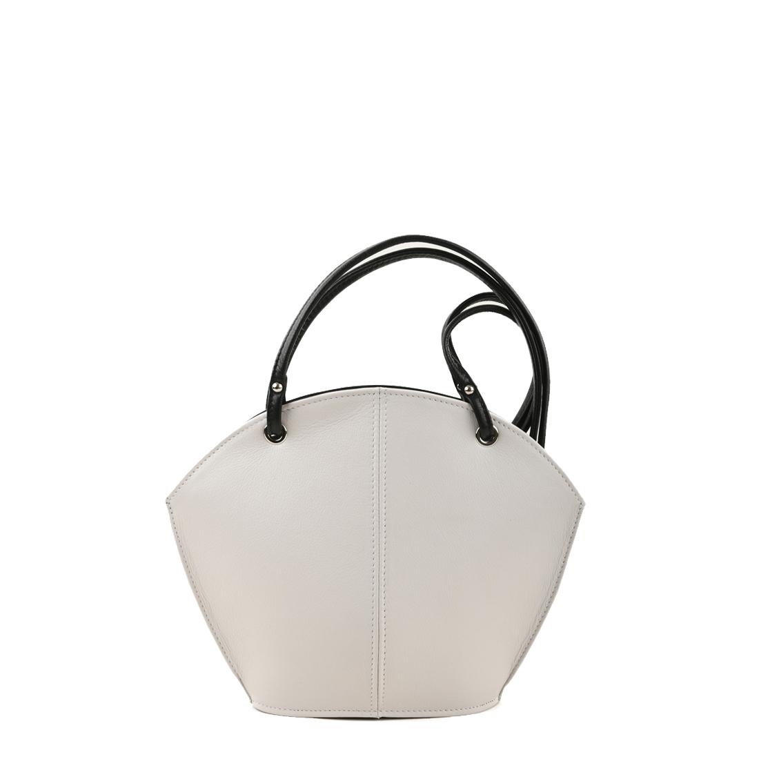 Ava Bianco Leather Shoulder Bag