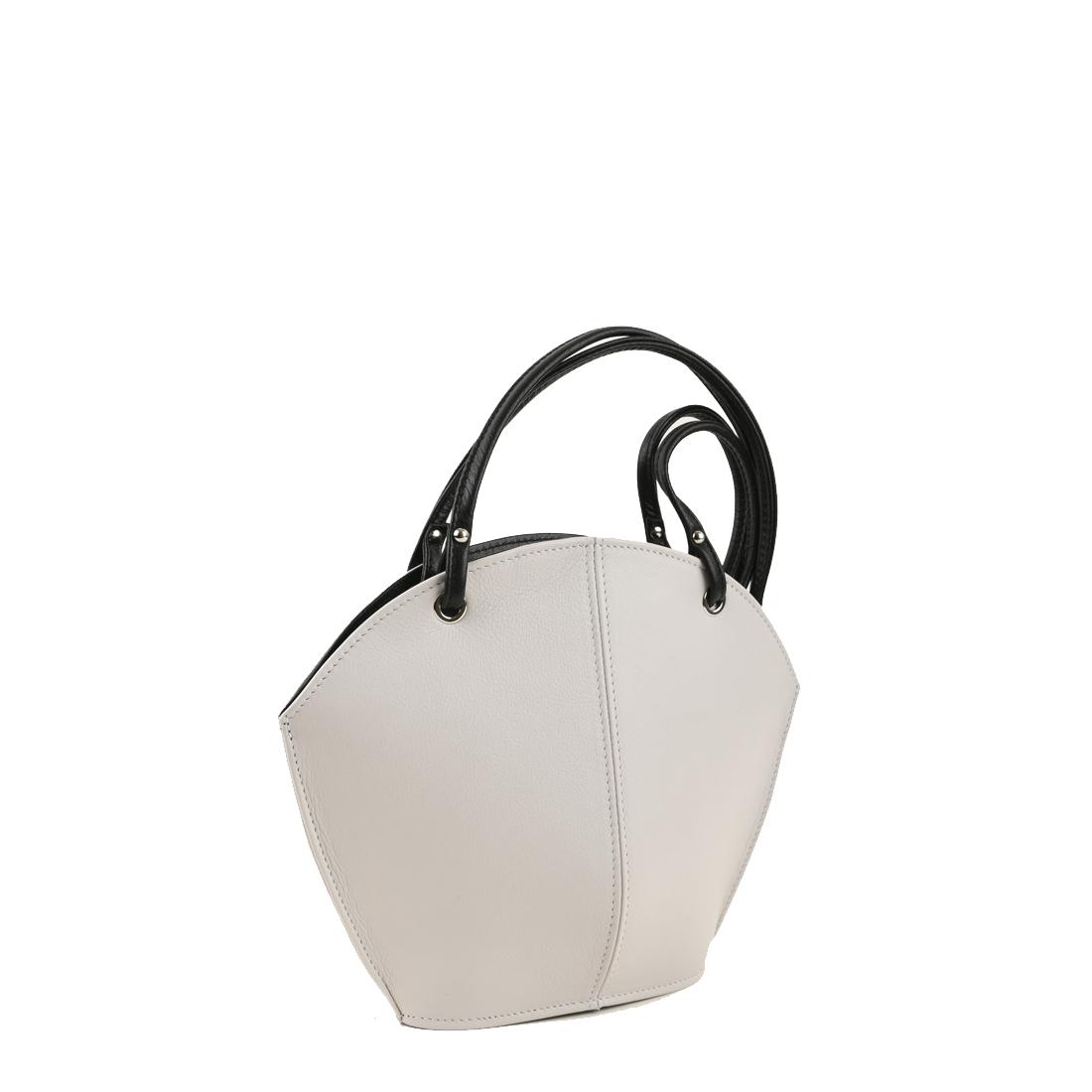 Ava Polvere Leather Shoulder Bag