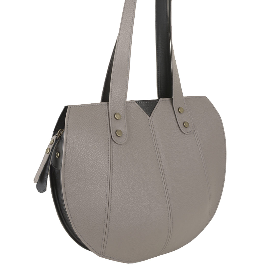 Carrie Zinco Leather Shoulder Bag