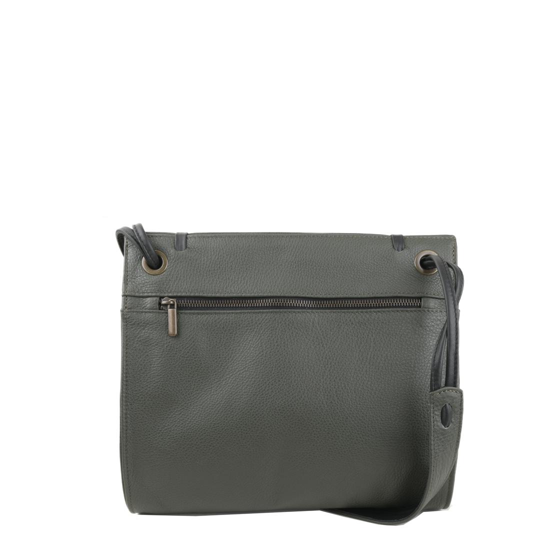 Elsa Loden Leather Across Body Bag