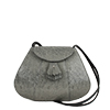 Florence Courmayeur Leather Shoulder Bag