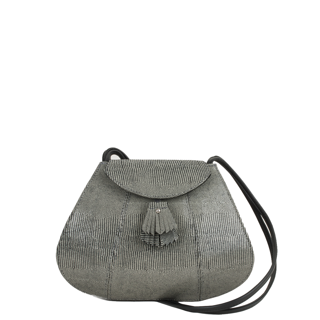 Florence Courmayeur Leather Shoulder Bag