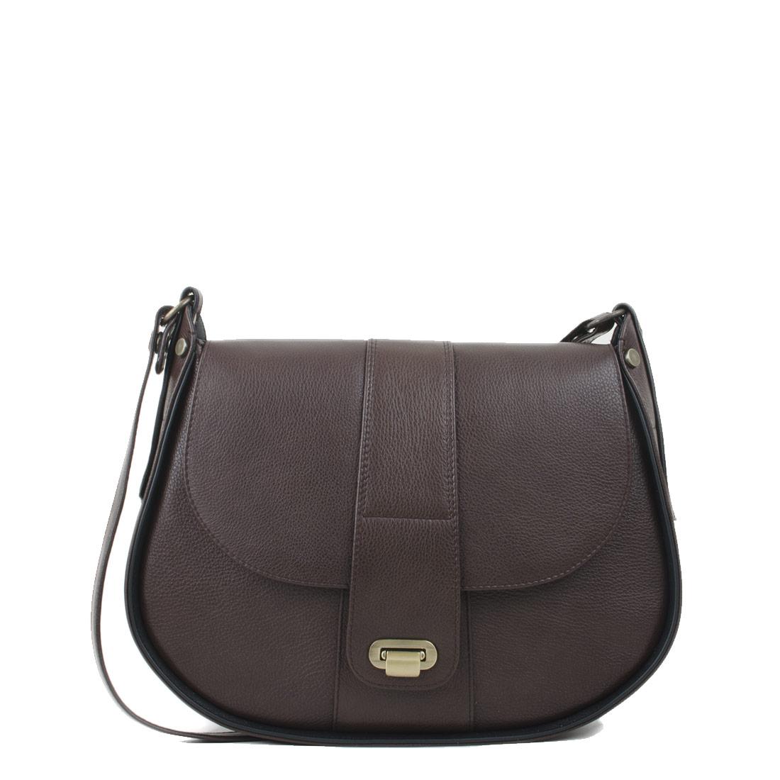 Freya Dark Brown  Across Body Bag