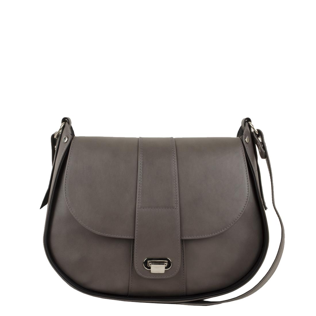 Freya Grigio Black Across Body Bag