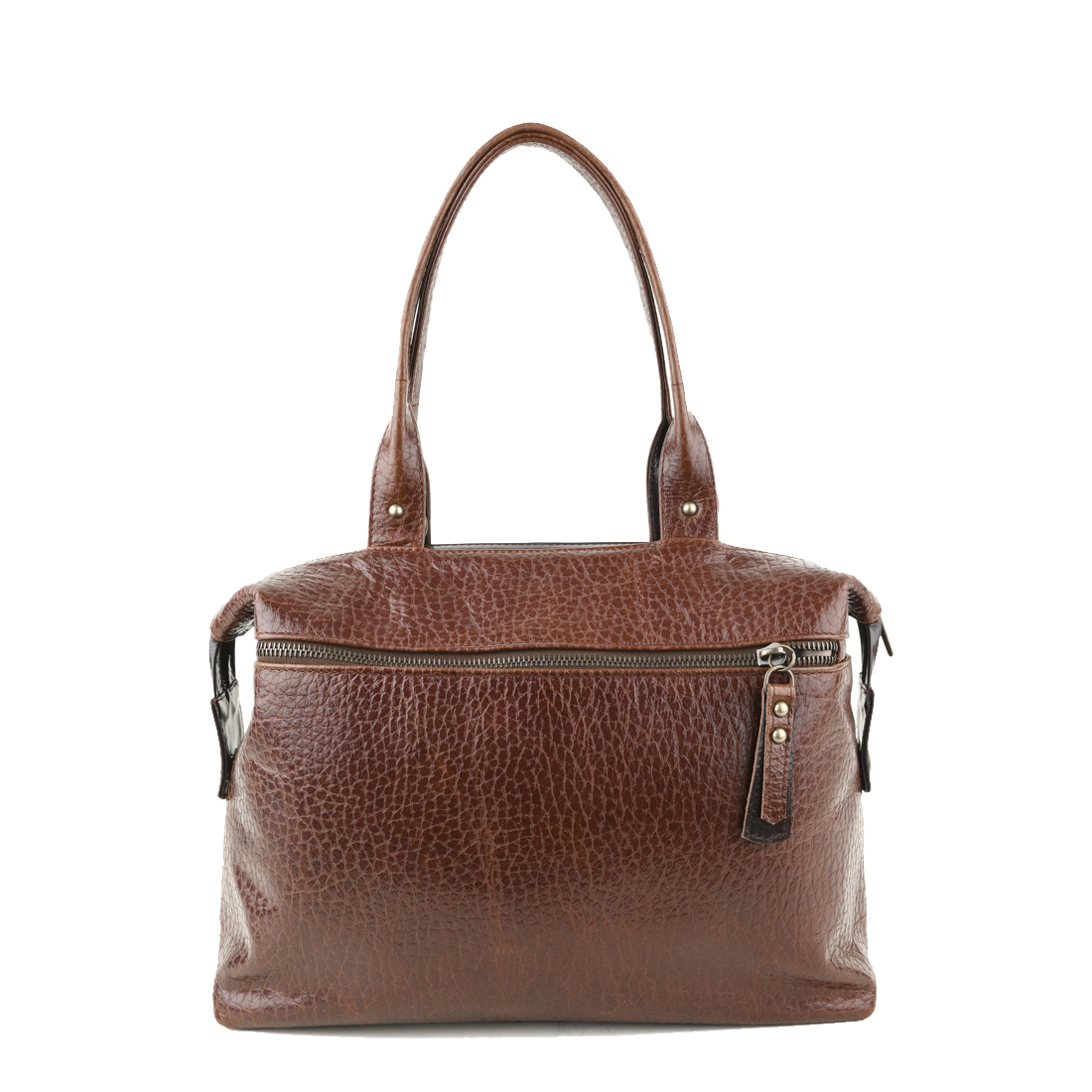 Grace Dark Brown Leather Tote Bag