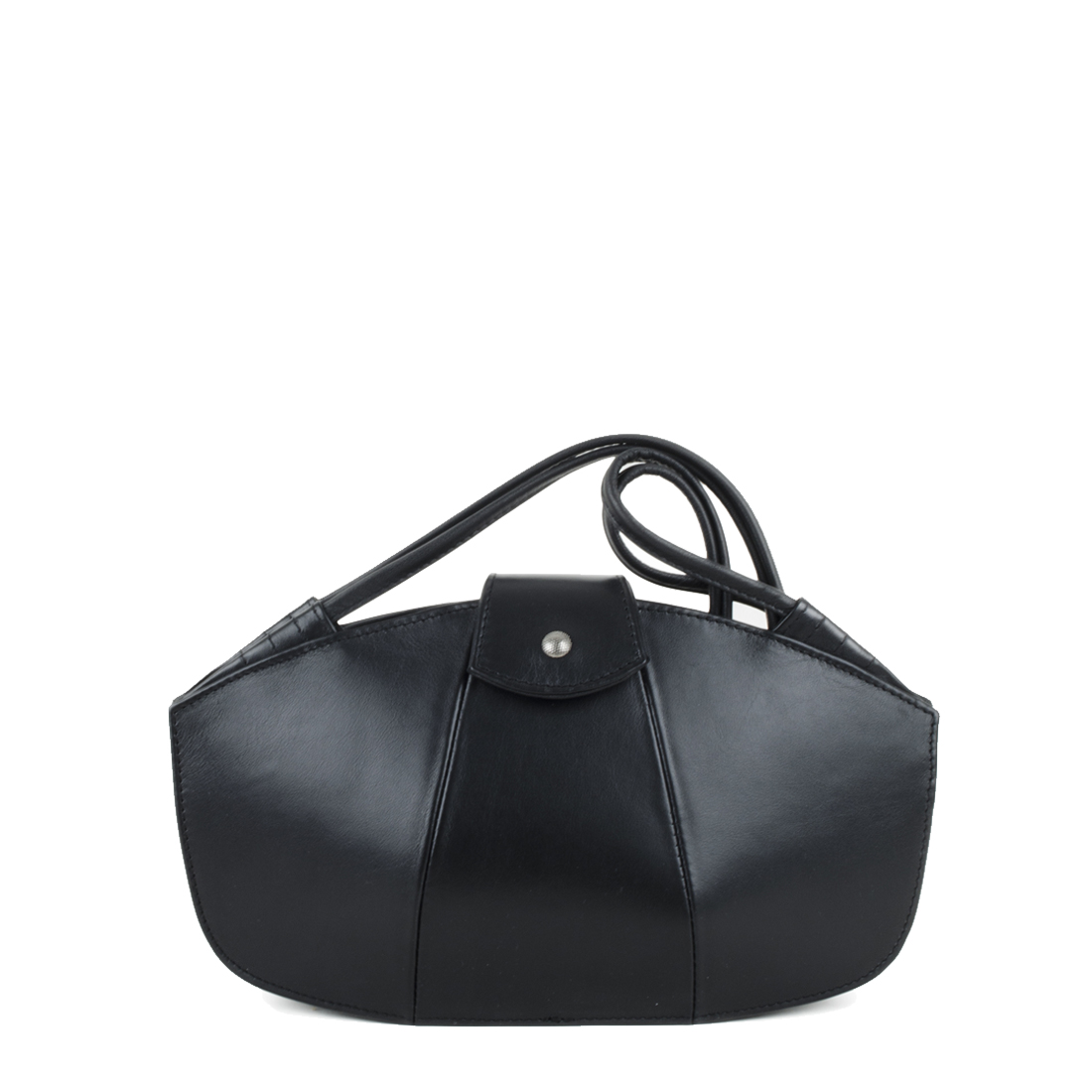Kate Black Leather Shoudler Bag