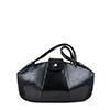 Kate Navy Print Leather Shoudler Bag