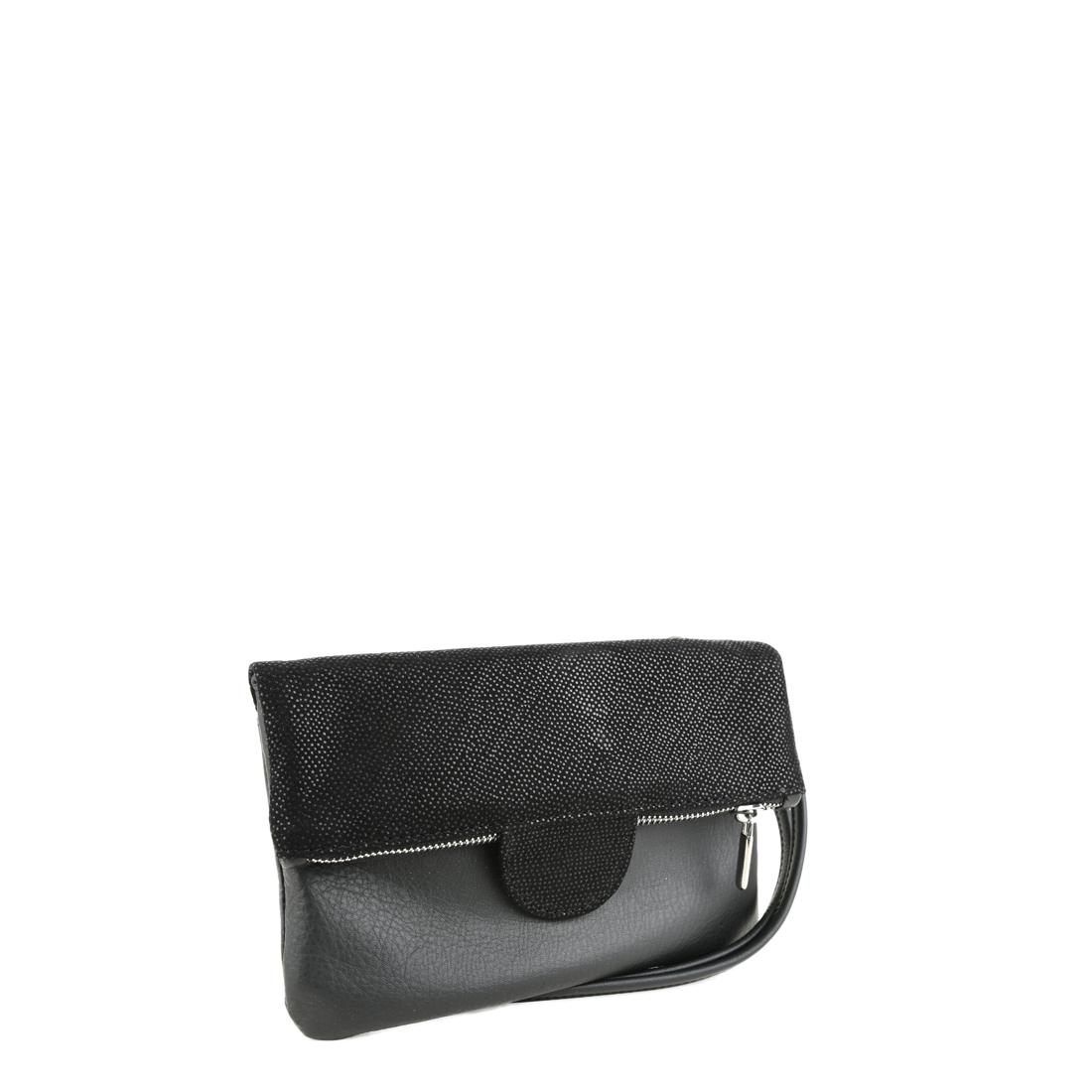 Lilly Black Print  Across Body Bag