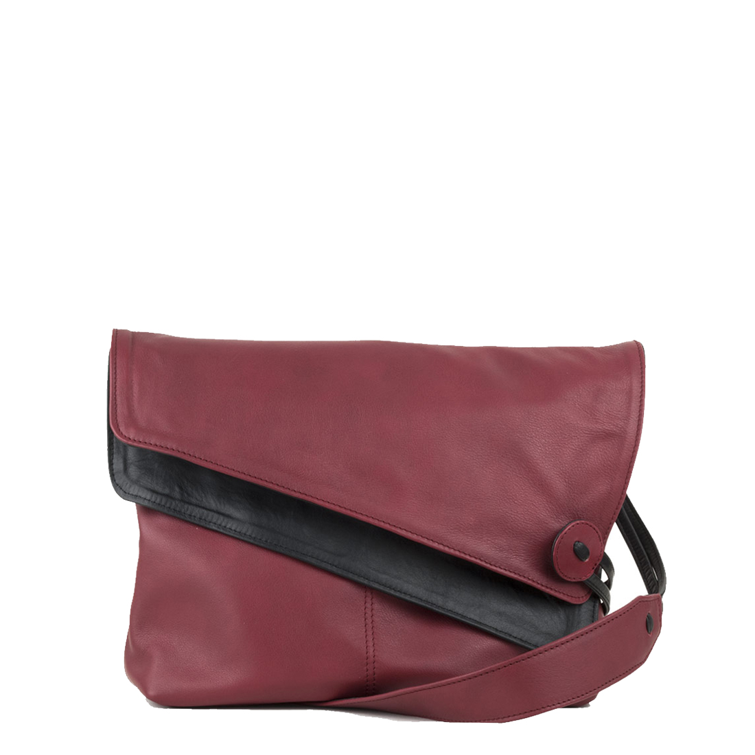 Lindsay Red Across Body Leather Bag