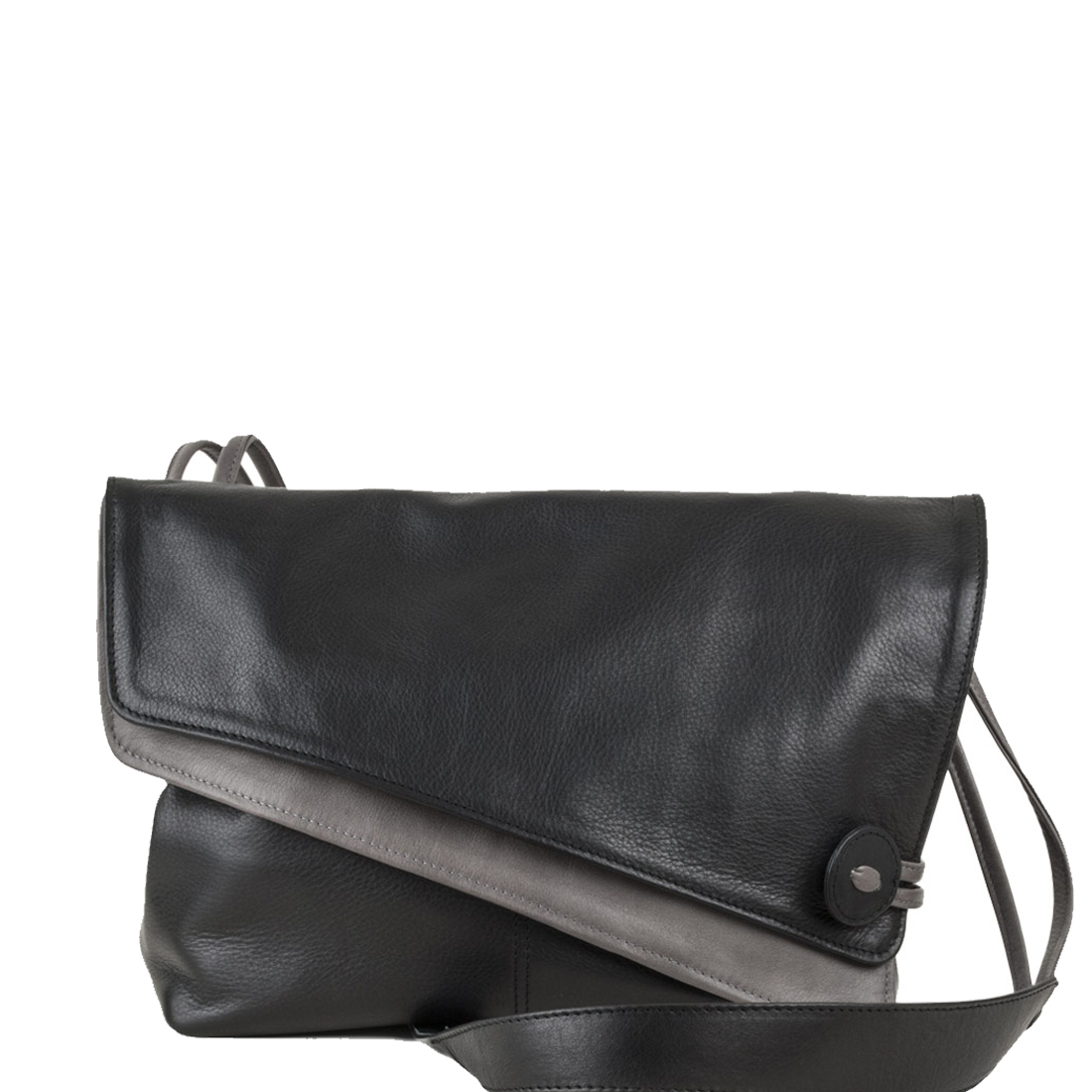 Lindsay Black Across Body Leather Bag