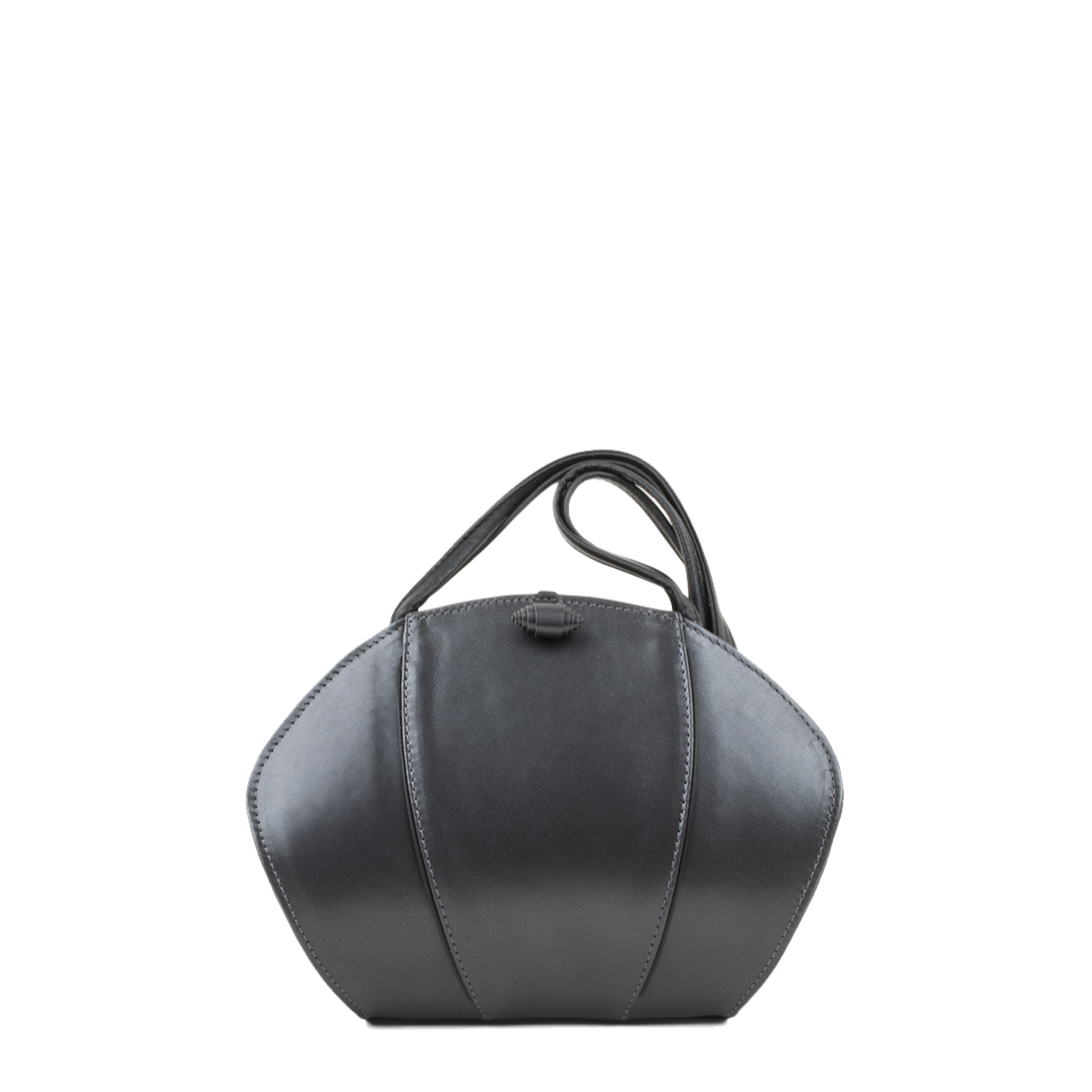 Lola Anthracite Pearl Shoulder Bag