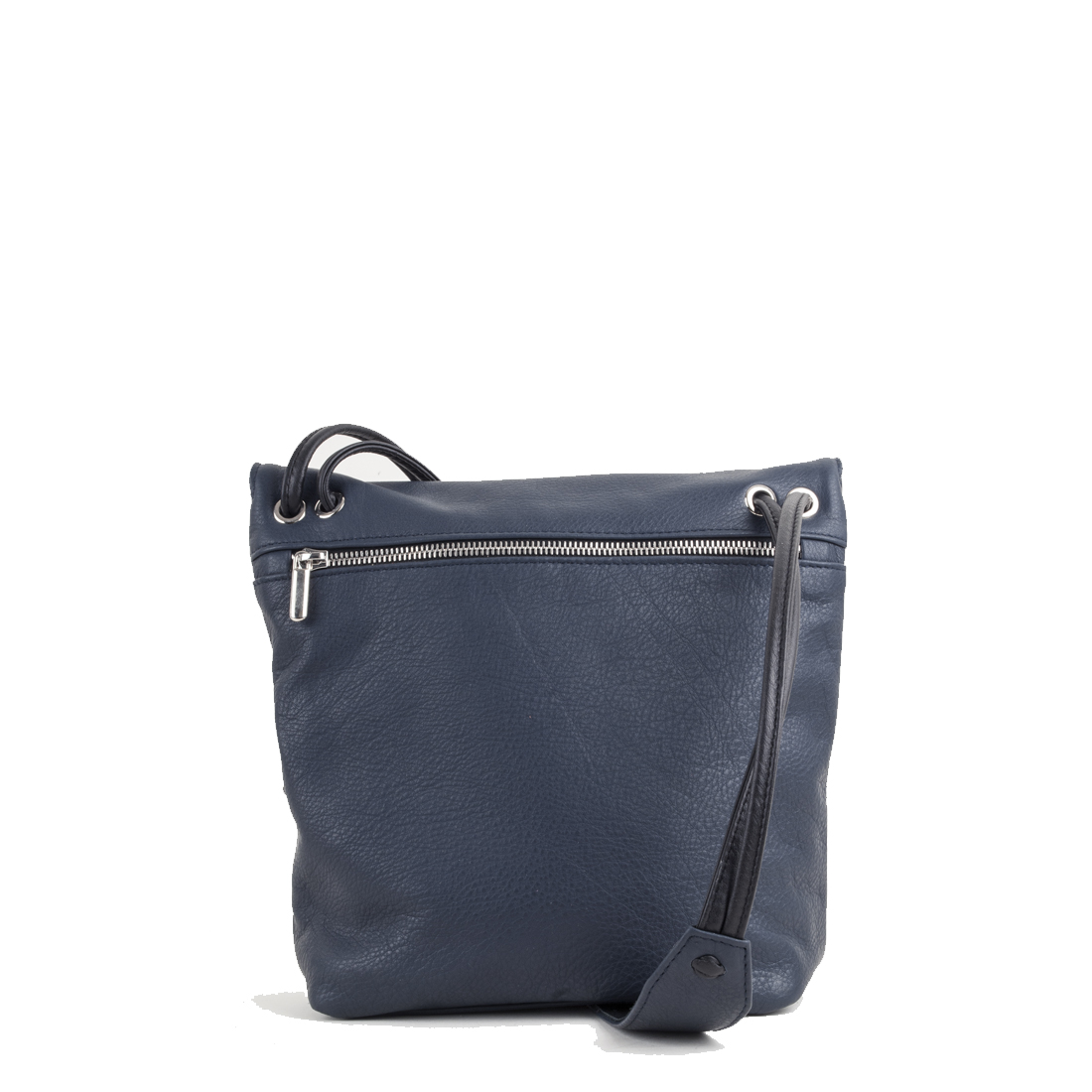 Louise Navy Across Body Leather Bag