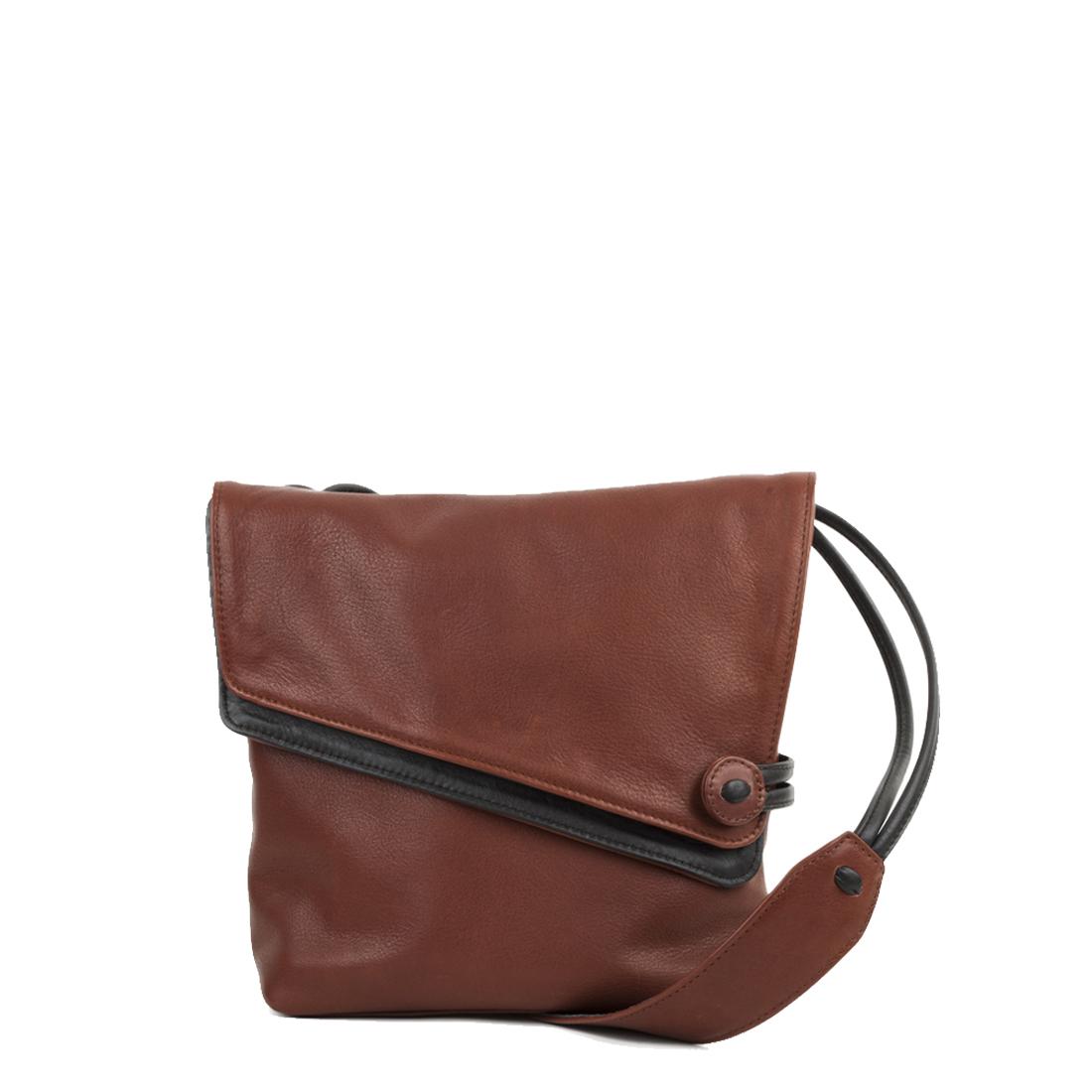 Louise Tan Across Body Leather Bag