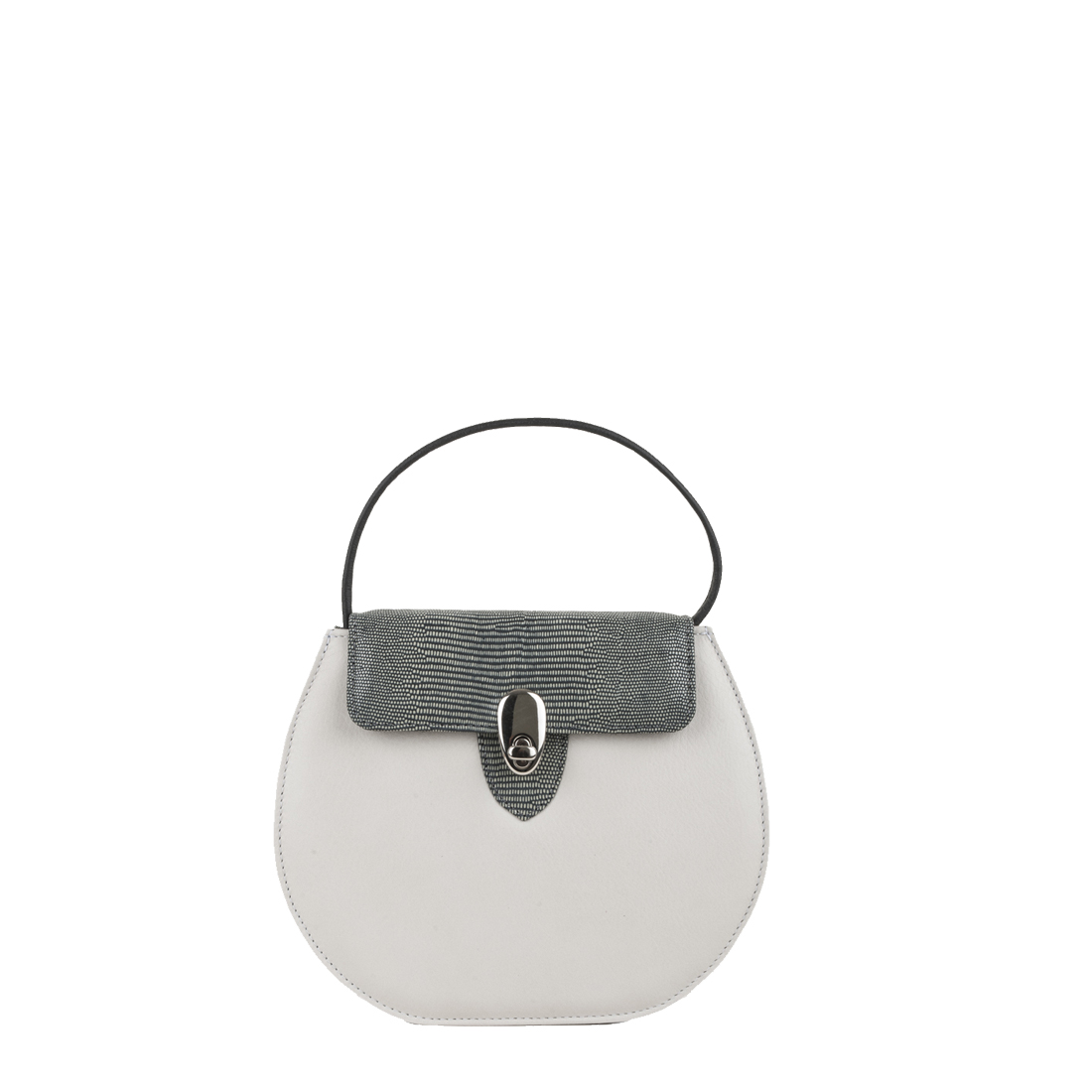 Mae Polvere Leather Shoulder Bag