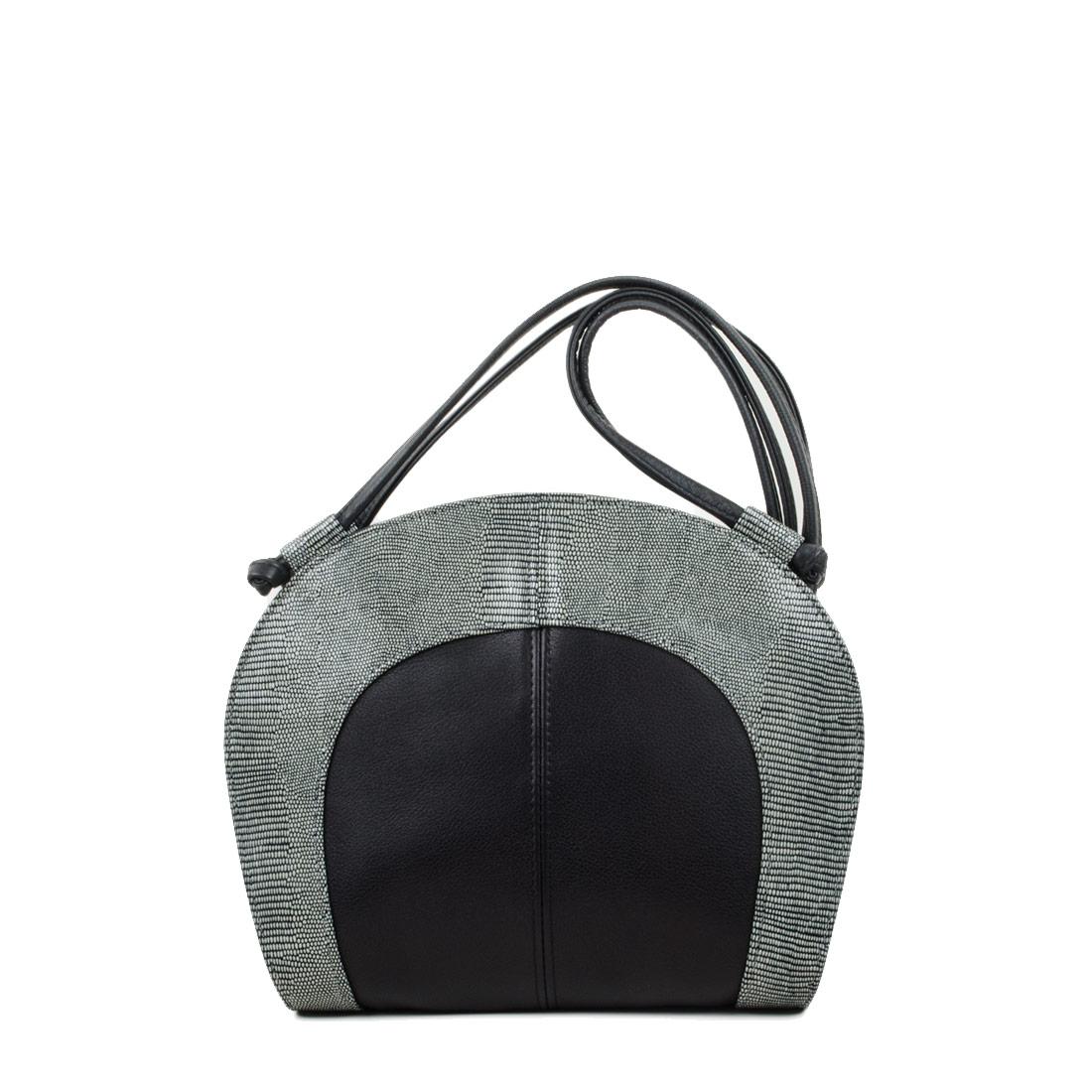 Molly Courmayeur Print Leather Shoulder Bag