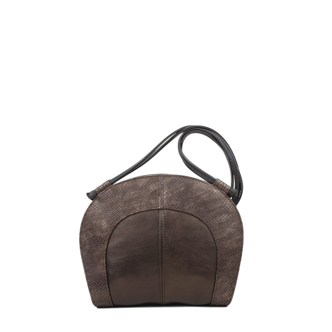Molly Bronze Leather Shoulder Bag