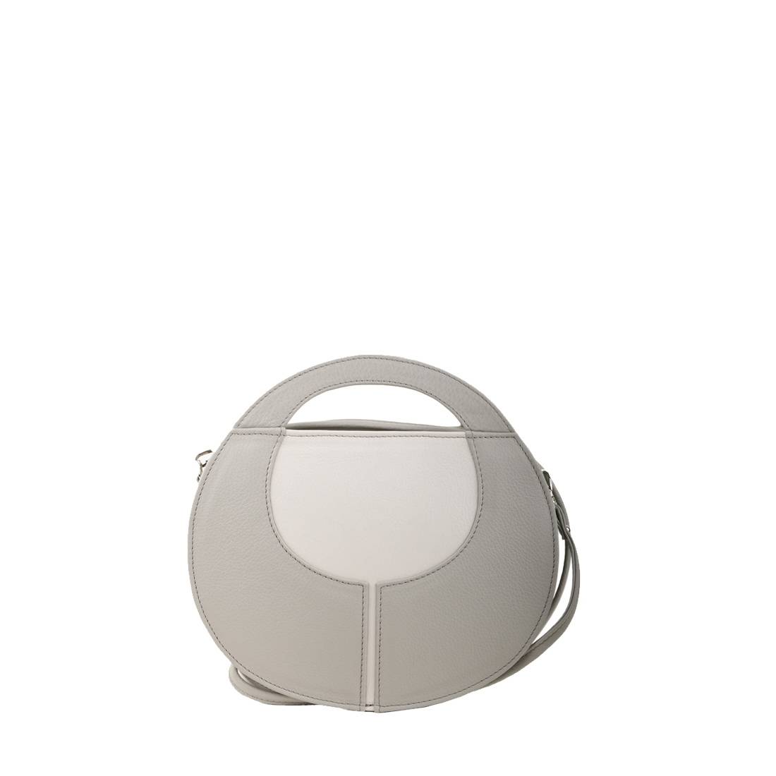 Olivia Plaster Leather Shoulder Bag