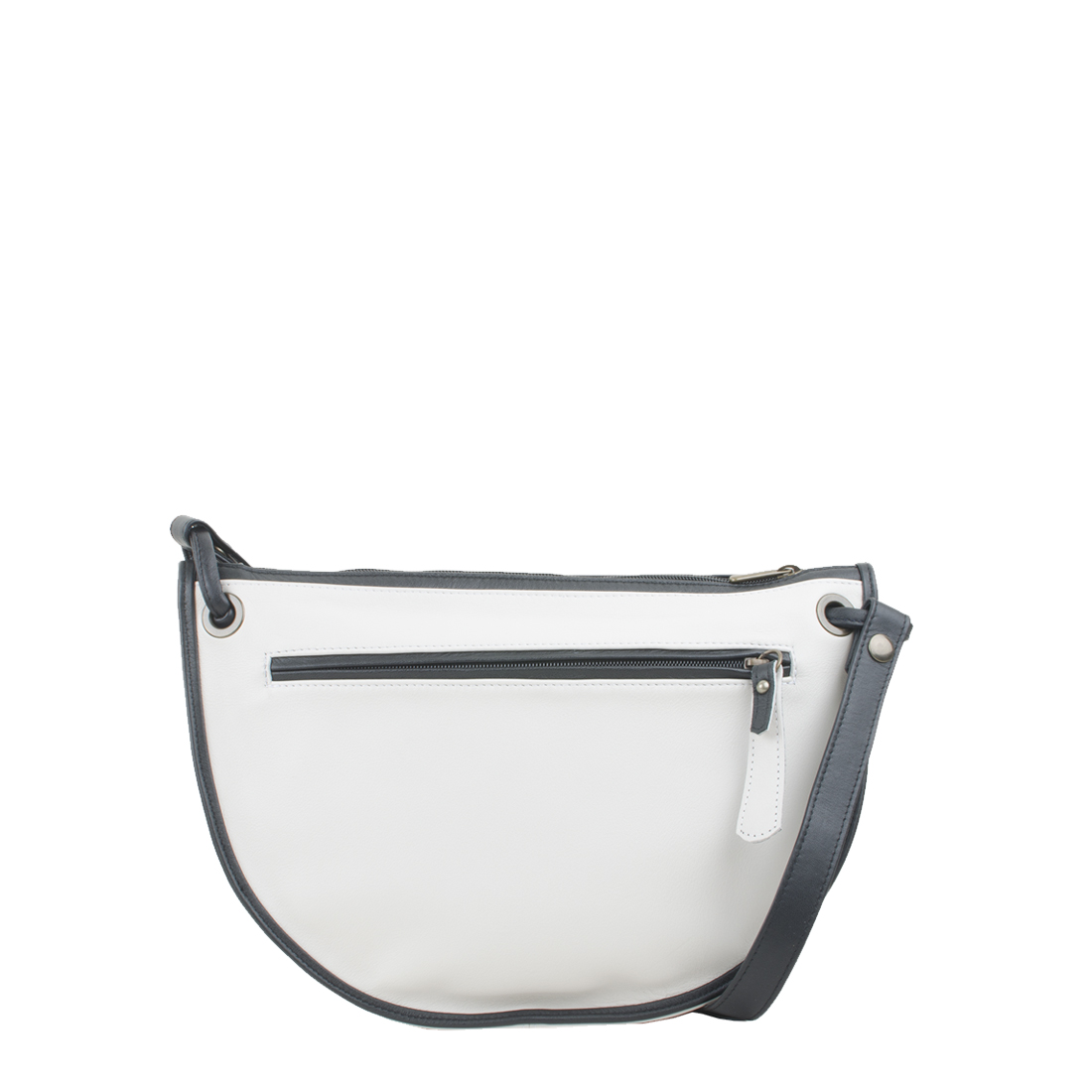 Rachel Polvere Leather Across Body Bag