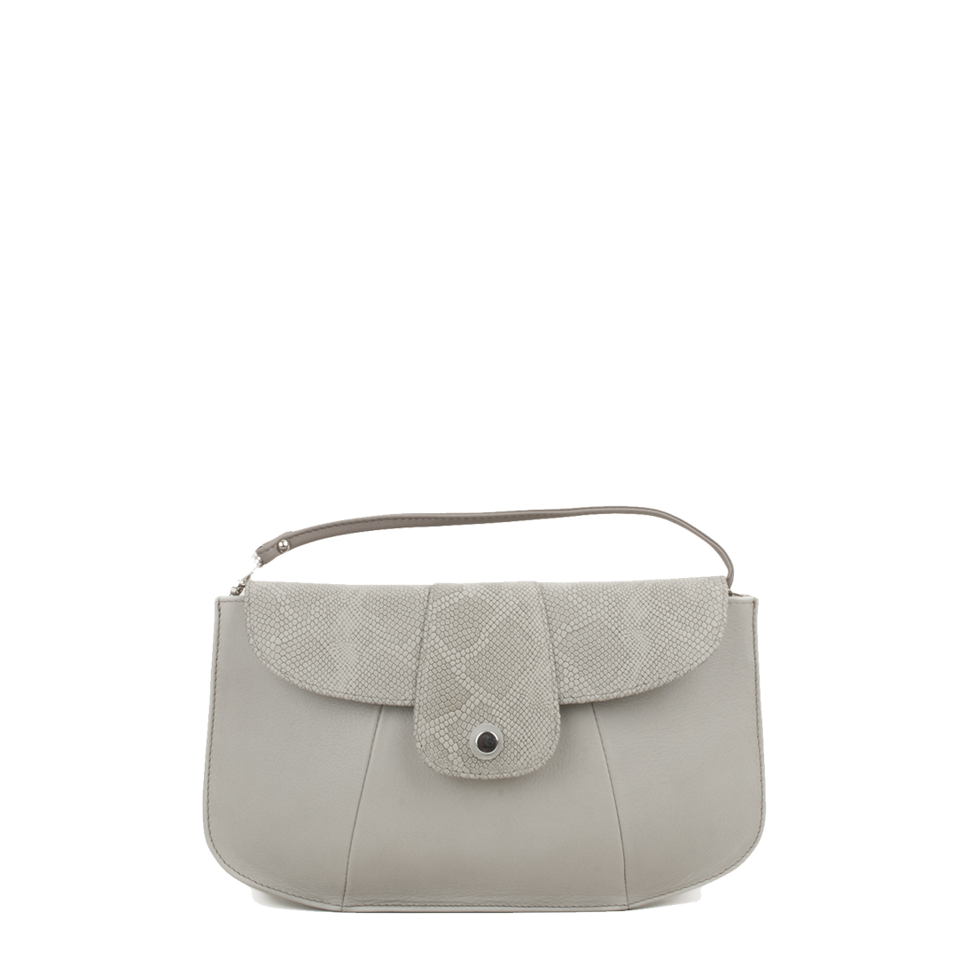 Ruby Pomice Leather Shoulder Bag