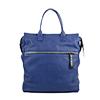 Sara Blue Leather Backpack