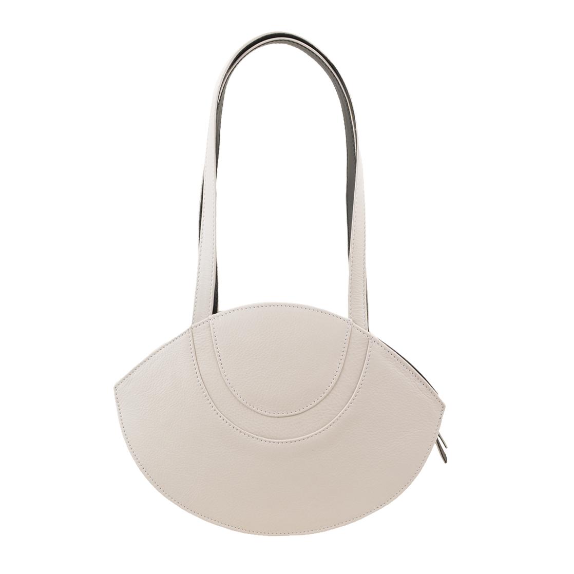 Sasha Polvere Leather Shoulder Bag