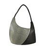 Scoop Black Courmayeur Leather Shoulder Bag