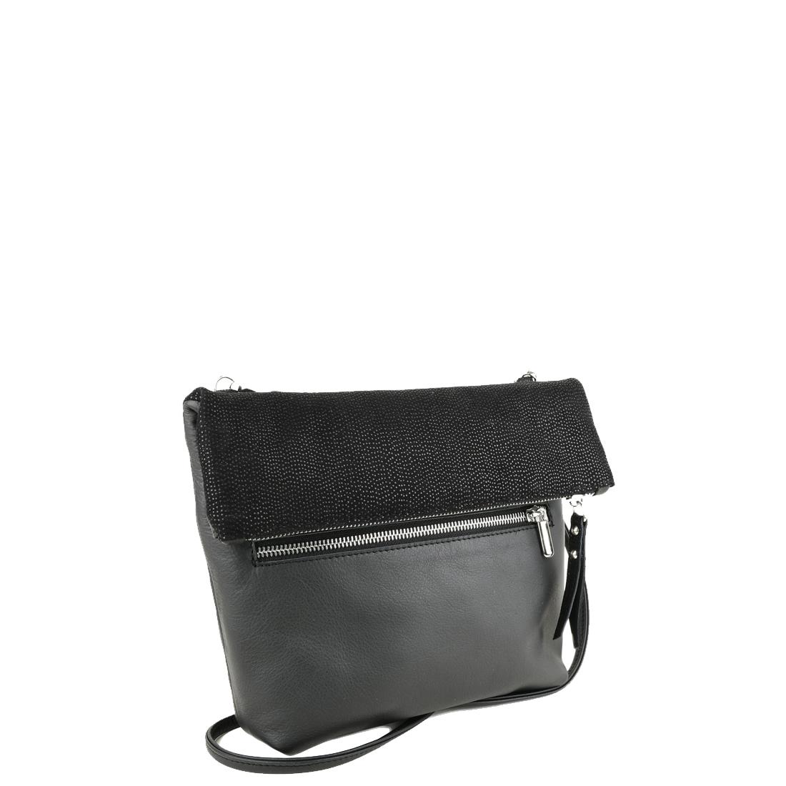 Sofia Black Across Body Bag